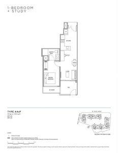 Verdale-floor-plan-1-bedroom-study-type-a4sp