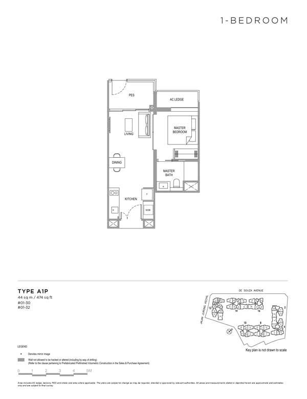 Verdale-floor-plan-1-bedroom-type-a1p
