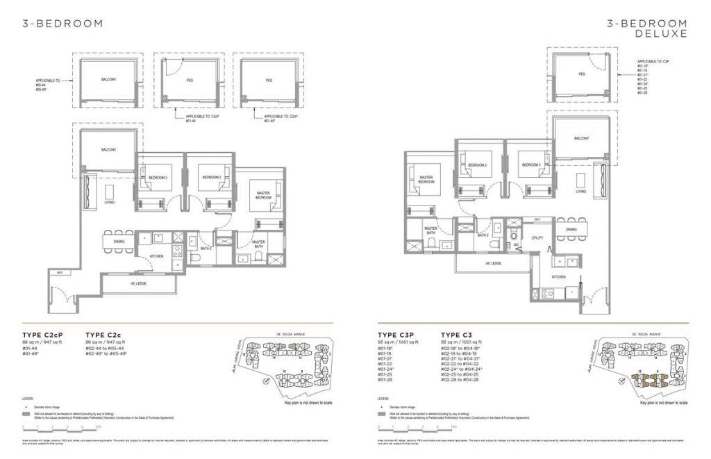 Verdale-floor-plan-3-bedroom-type-c2c