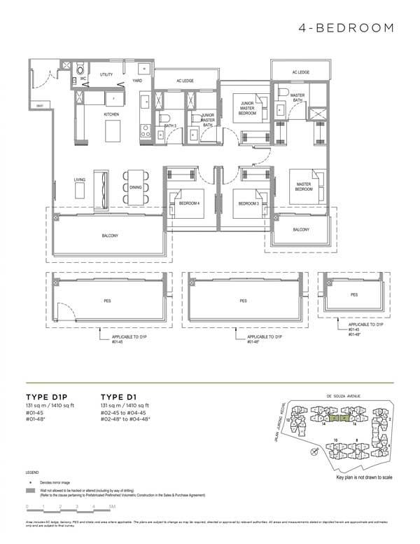 Verdale-floor-plan-4-bedroom-type-d1